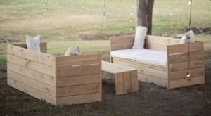 ideas de muebles con palets 2 - Opciones de muebles con palets