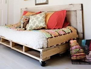 ideas de muebles con palets 4 - Opciones de muebles con palets