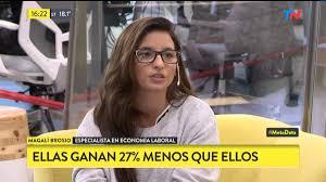 Magali brosio - #EconomiaFeminista Argentina: Las mujeres ganan 27 por ciento menos que los hombres