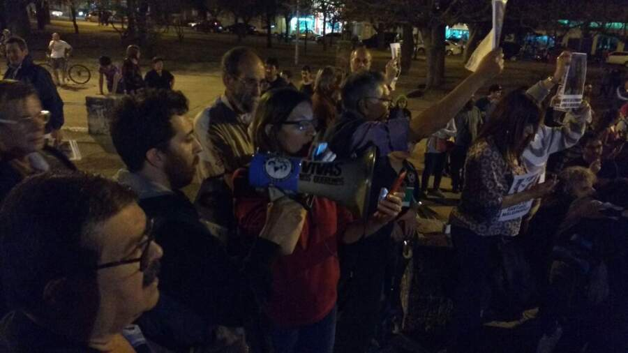 acto santiago - #SANTIAGOMALDONADO: Miles de altagracienses marcharon por su aparición con vida