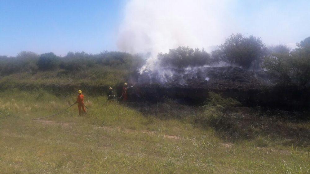 IMG 20171125 WA0011 - Se quemó un campo en Monte Ralo