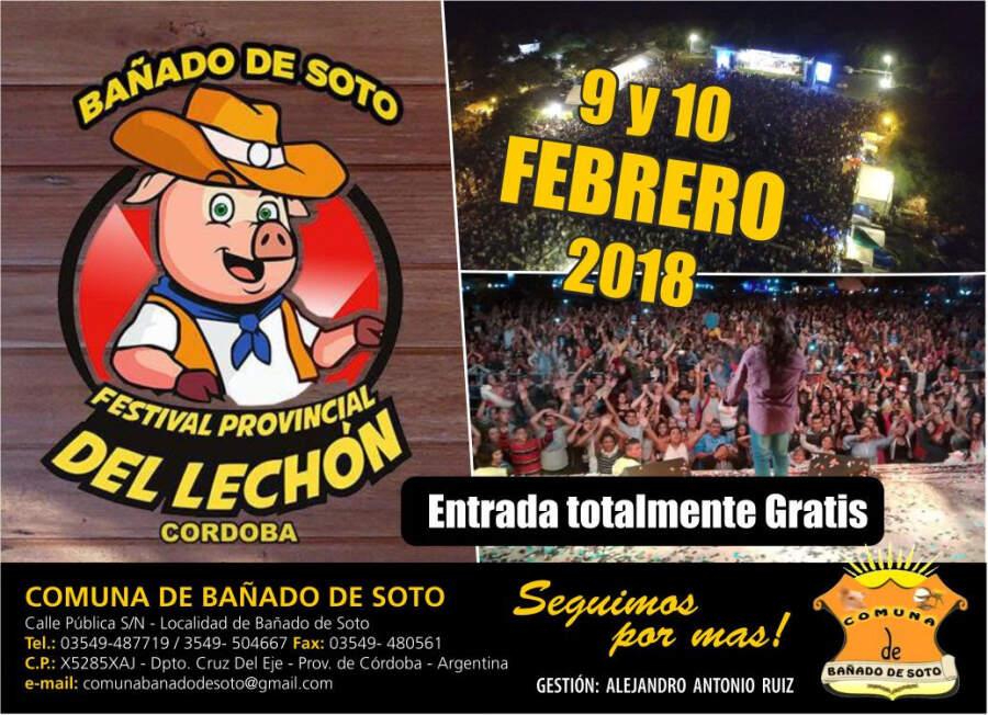 fiesta del lechon - Se viene la Fiesta Provincial del Lechón en Bañado de Soto