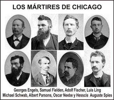 los martires de chicago - Por qué se celebra el Día del Trabajador