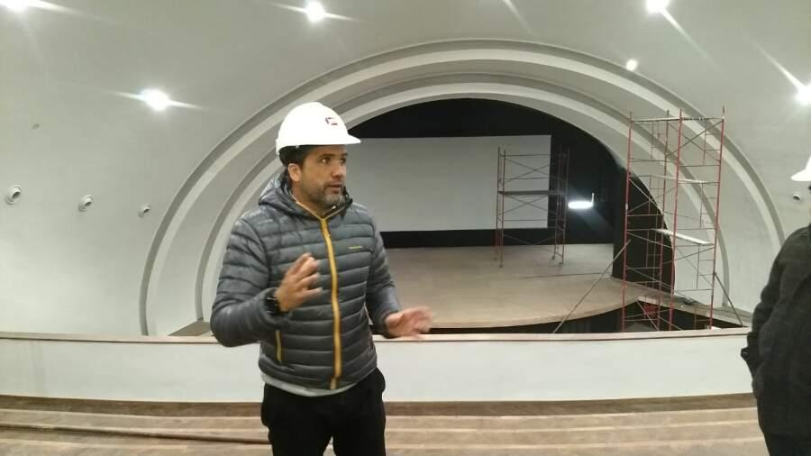 cine monumental sierras 4 - Avanzan las obras en el Cine Teatro Monumental Sierras