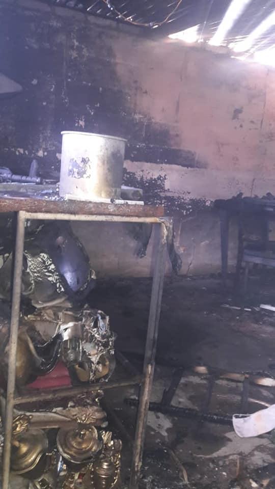 incendio sabattini dentro I - Campaña solidaria para la familia que perdió todo en incendio