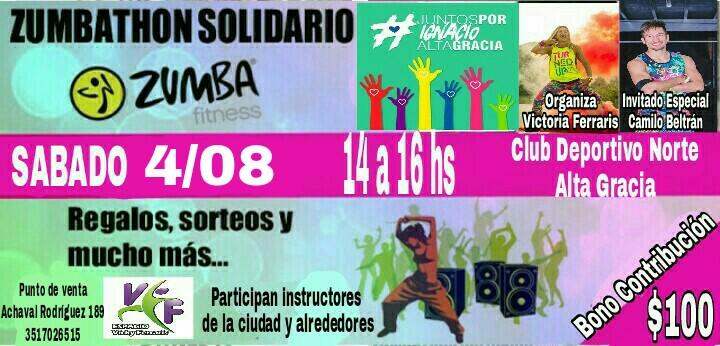 zumbaton solidario ignacio - Zumbaton a beneficio #JuntosporIgnacio