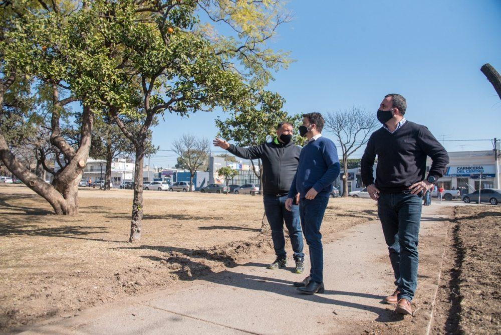 plaza mitre marcos pablo ivan - Remodelación y puesta en valor de la Plaza Mitre