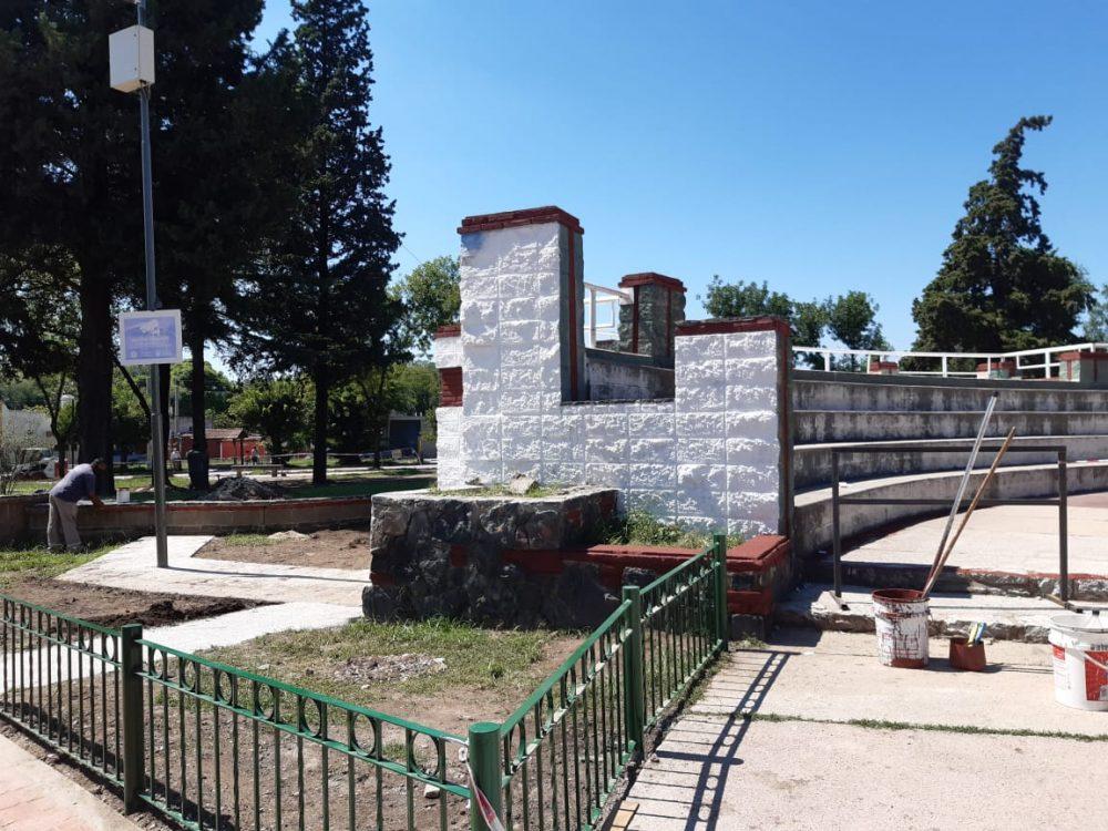 mural memoria limpio 1 - ¿Qué pasó con los murales de la memoria en la Plaza Mitre?