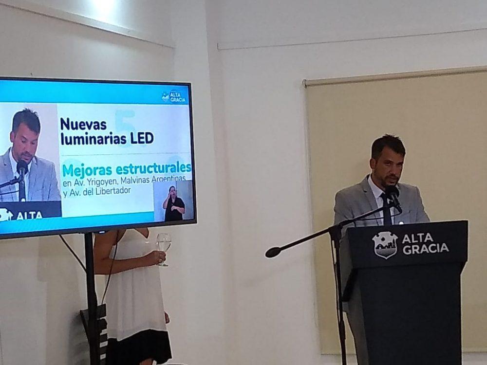 MARCOS TORRES SESIONES 2021 - El intendente Torres anunció un ambicioso plan de obras públicas