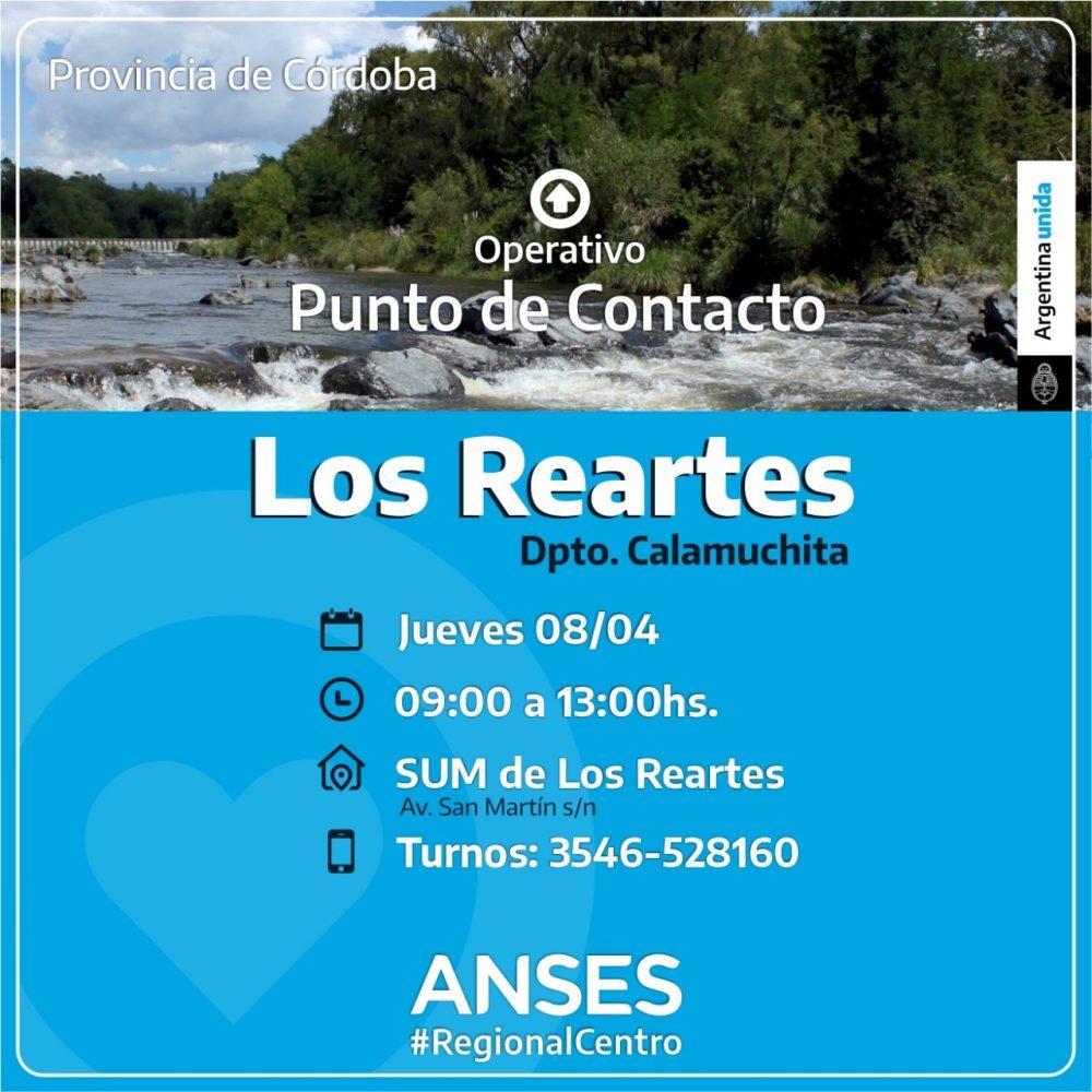 ANSES LOS REARTES - Operativos de ANSES en Yacanto, Los Reartes y Villa Ciudad Parque