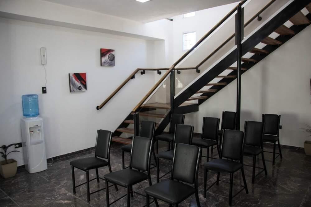 comuna villa del prado dentro - Villa del Prado inauguró su nuevo edificio comunal y la primera cuadra de pavimento articulado